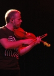 Nicholas Krassik playing with Gilberto Gil at Womad 2013