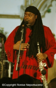Courtney Pine at the Newport Minster