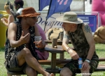Revellers at WOMAD 2014 by Ronise Nepomuceno