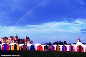Rainbow at WOMAD 2014 by Ronise Nepomuceno