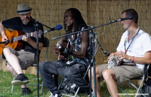 Batch Gueye at WOMAD 2014 by Ronise Nepomuceno