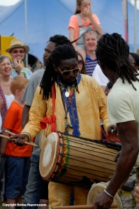 Artists join the arnival Parade at Womad 2014 by Ronise Nepomuceno