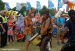 Artists join the Carnival Parade at Womad 2014 by Ronise Nepomuceno