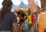 CArtists join the arnival Parade at Womad 2014 by Ronise Nepomuceno