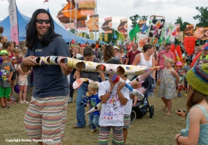 Carnival Parade at Womad 2014 by Ronise Nepomuceno