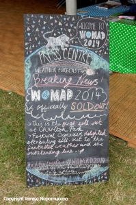 Womad 2014 announcement at the Media Centre