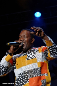 Youssou N'Dour Band at WOMAD 2014 by Dylan Garcia
