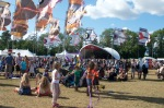 Revellers at WOMAD UK 2015