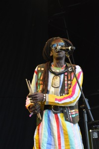 Cheikh Lô at WOMAD UK 2015, photo by Dylan Garcia