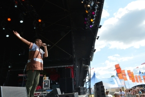 Criolo at Womad UK 2015