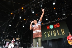 Criolo at WOMAD UK 2015, photo by Dylan Garcia