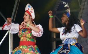Maracatu Estrela do Norte, Brasil Day, Trafalgar Square, London, August 08 2015, by Ronise Nepomuceno