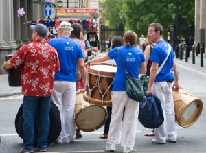 Carnival Band Estrela do Norte, brasil Day, Trafalgar Square, London, August 08 2015, by Ronise Nepomuceno