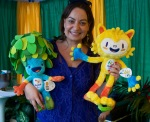 The Mascots for 2016 Olympics in Brazil: Tom & Vinicius, Brasil Day, August 08 2015, by Ronise Nepomuceno