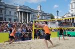 Beach Volleyball in Trafalgar Square, Brasil Day, August 08 2015, by Ronise Nepomuceno