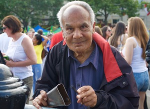 Public enjoying Brasil Day, Trafalgar Square, London, August 08 2015, by Ronise Nepomuceno