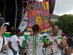 Aloisio Menezes + Serafina, Bloco de Carnaval (Carnaval Bloc), in Trafalgar Square, London, August 08 2015 for Brasil Day, by Ronise Nepomuceno